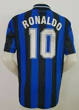MAGLIA CALCIO SHIRT INTER RONALDO 1997/1998 FOOTBALL ITALY SOCCER JERSEY OLD I76