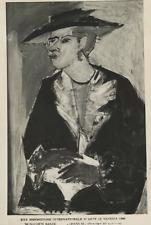 Sante Monachesi, Esposizione d'Arte di Venezia, 1950 Vintage silver print,