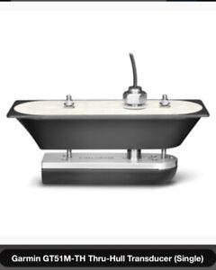 Garmin GT51M-TH W/ Stainless Steel Thru-Hull 12-Pin 010-01966-10