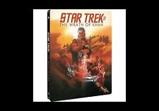 Star Trek 2 - The Wrath Of Khan Limited Edition STEELBOOK