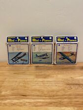 Bachmann Mini Planes Lot Of 3 Hard To Find PBY-5A, Kingfisher, Spad