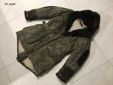 DSQUARED² EXTREMELY RARE LAPIN FUR PARKA JACKET COAT FW 2003 71A011 SIZE 50
