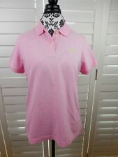 NEW Lilly Pulitzer Shrunken Polo Shirt Women Extra Large Pink Stretch Ladies $65