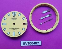 NEW SEIKO YELLOW DIAL HANDS MINUTE TRACK SET FOR SEIKO 7002 7000 WATCH BVT00487