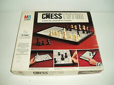 """Vintage """"Chess Tutor """" by MB Games 1975."""