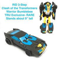 TRANSFORMERS RID Clash of the Transformers BUMBLEBEE Warrior Robots in Disguise