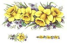 "1 Bumble Bee Bumblebee Wrap  7-1//2/"" X 3-1//4/"" Waterslide Ceramic Decal Ox"
