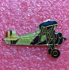 Pins Avion de Chasse Biplan BOEING F4B Fighter Plane Aviation Airplane