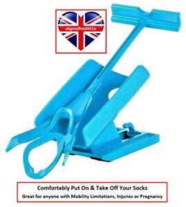 Sock-Ezy Easy slide on-off helper mobility aid Elderly Injured Pregnant Disabled