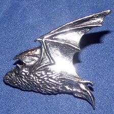 Halloween Gothic Flying Pipestrelle Bat Brooch Pin