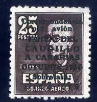 Sellos de España 1951 Visita Caudillo a Canarias 1090 ref.01
