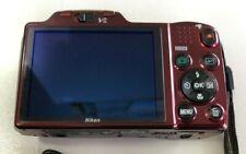 Nikon COOLPIX L610 16.0MP Digital Camera - Red + Gift Lexar 16Gb SDHC U1 45mb/s