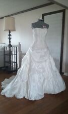 "MAGGIE SOTTERO ""VICTORIANA"" Wedding dress size 10"