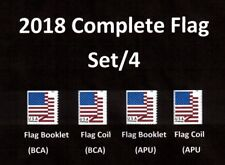2018 Flags  set/4 - MNH