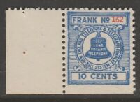 USA Telegraph Telephone phone Revenue Fiscal Stamp 11-21-20-3a2 mng/mnh 1941