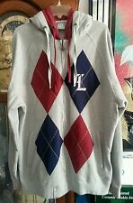MEN'S LRG RESOLUTIONARY CLOTHING COMPANY  ZIP FT DOUBLE HOOD SIZE 2XL TALL MEN .