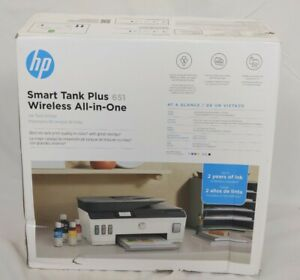 HP Smart Tank Plus 651 Thermal Inkjet All-In-One Printer - White