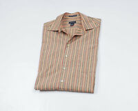 GANT Men's striped long sleeved Casual Shirt Size Large