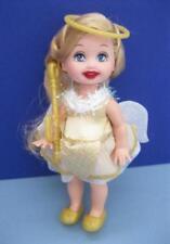 KELLY DOLL ANGEL NEW BARBIE Christmas Carol Eden Starling HOLIDAY GOLD DRESS SET