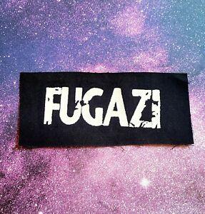 FUGAZI Punk Cloth Patch Sew On Band Patches
