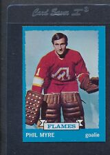 1973/74 Topps #077 Phil Myre Flames NM *969