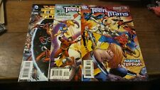 Teen Titans 52, 58 2007 And 23 From 2013 Dc Comics