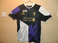 WARRIOR LIVERPOOL FC STANDARD CHARTERED FOOTBALL SHIRT 2013/14 XLB UK 14/15 YRS