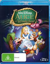Alice in Wonderland (1951)  - BLU-RAY - NEW Region B