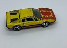 Vintage 1981 Matchbox SAAB FERRARI Die cast CAR DIECAST