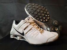Mens Nike Shox Current Size 11 White Silver Black