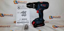 "New Bosch HDS181A 18V Li-Ion 1/2"" Hammer Drill w/ GBA18V40 Battery 4.0Ah"