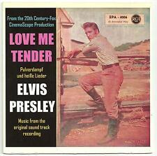 Elvis Presley - Love me tender EP from Germany..........