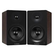 "Fluance Powered 6.5"" Bookshelf Speakers for Turntable, PC, HDTV & Bluetooth"