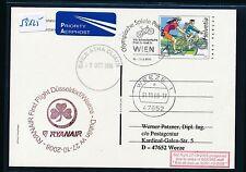 59125) Ryanair FF Düsseldorf - Dublin Irland 30.10.2008, GA Schweiz SPA Wien
