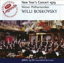 New Year's Day Concert In Vienna, 1979 (Audio CD)