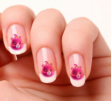 20 Nail Art Decals Transfers Stickers #535 - Care Bear