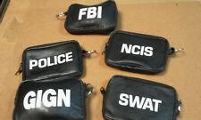 PORTE MONNAIE PORTE CLE NCIS SWAT TAXI FBI ... AU CHOIX
