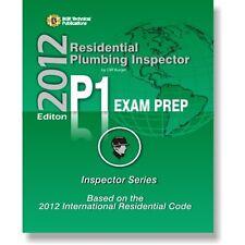 P1 ICC Plumbing Inspector Exam Practice Questions Test Workbook 2012