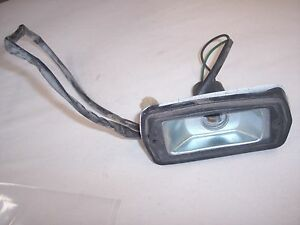 77 DATSUN 280Z FRONT LH SIDE MARKER HOUSING AND BEZEL  WITH PLUG NICE