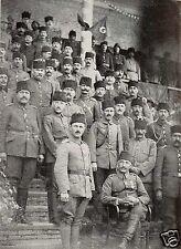Turkish Ottoman Army Officers World War 1  5.5x4 Inch Reprint Photo 1