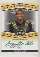 2013 Leaf US Army All-American Bowl Tour Green Ink /25 Jonathan Allen Auto