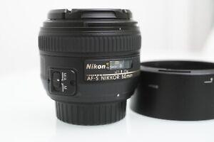 Nikon Nikkor AF-S 50mm F1.4G Lens