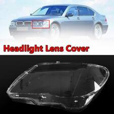 Left Clear Headlight Headlamp Plastic Lens Cover For 2005-2008 BMW 7 E65/E66 LCI