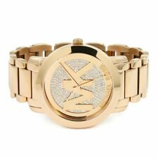 Ladies Michael Kors Runway Rose Gold Watch MK3463