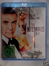 Never Say Never Again [1983]d(Blu-ray Region-Free)~~~~Sean Connery~~~~NEW SEALED