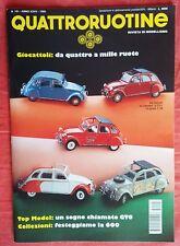 RIVISTA QUATTRORUOTINE MODELLISMO N° 191/95 FERRARI BMW CITROEN NUOVO EDICOLA