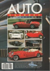 AUTO CHROMES MAGAZINE 87 COLLECTION HARRAH CARROLL SHELBY LOLA T70 KALLISTA NOVA