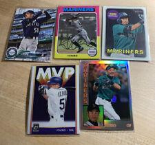 Topps Donruss Ichiro Suzuki Baseball Card Lot(5) Seattle Mariners