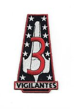 "New Battlestar Galactica Vigilantes Squadron Logo Embroidered Patch 3"" Tall"