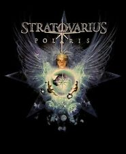 STRATOVARIUS cd lgo Polaris ANGEL Official TOUR SHIRT LRG New oop